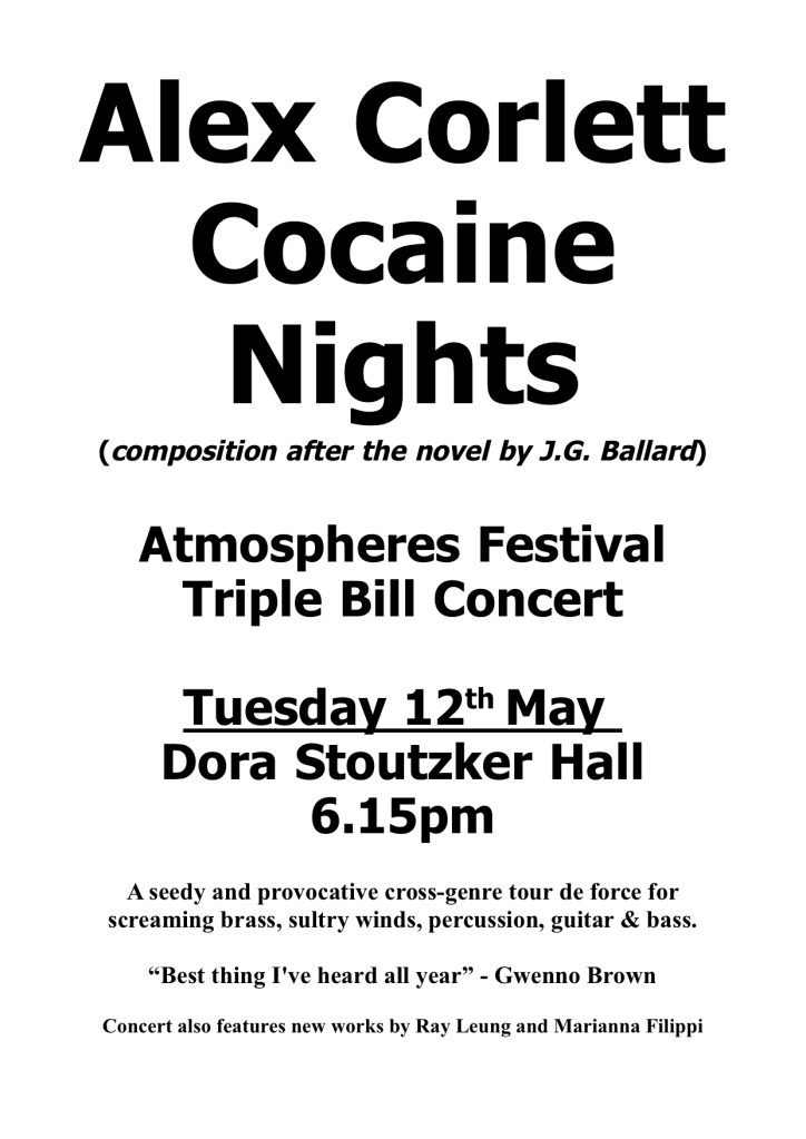 Cocaine Nights Poster