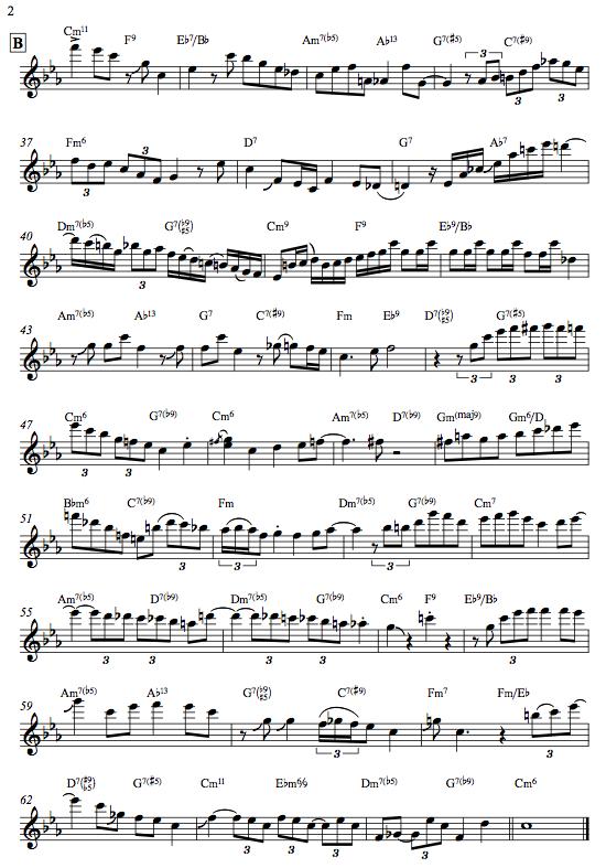 Chant - Peter Bernstein Solo p.2