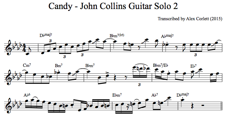 John Collins Candy Solo 2